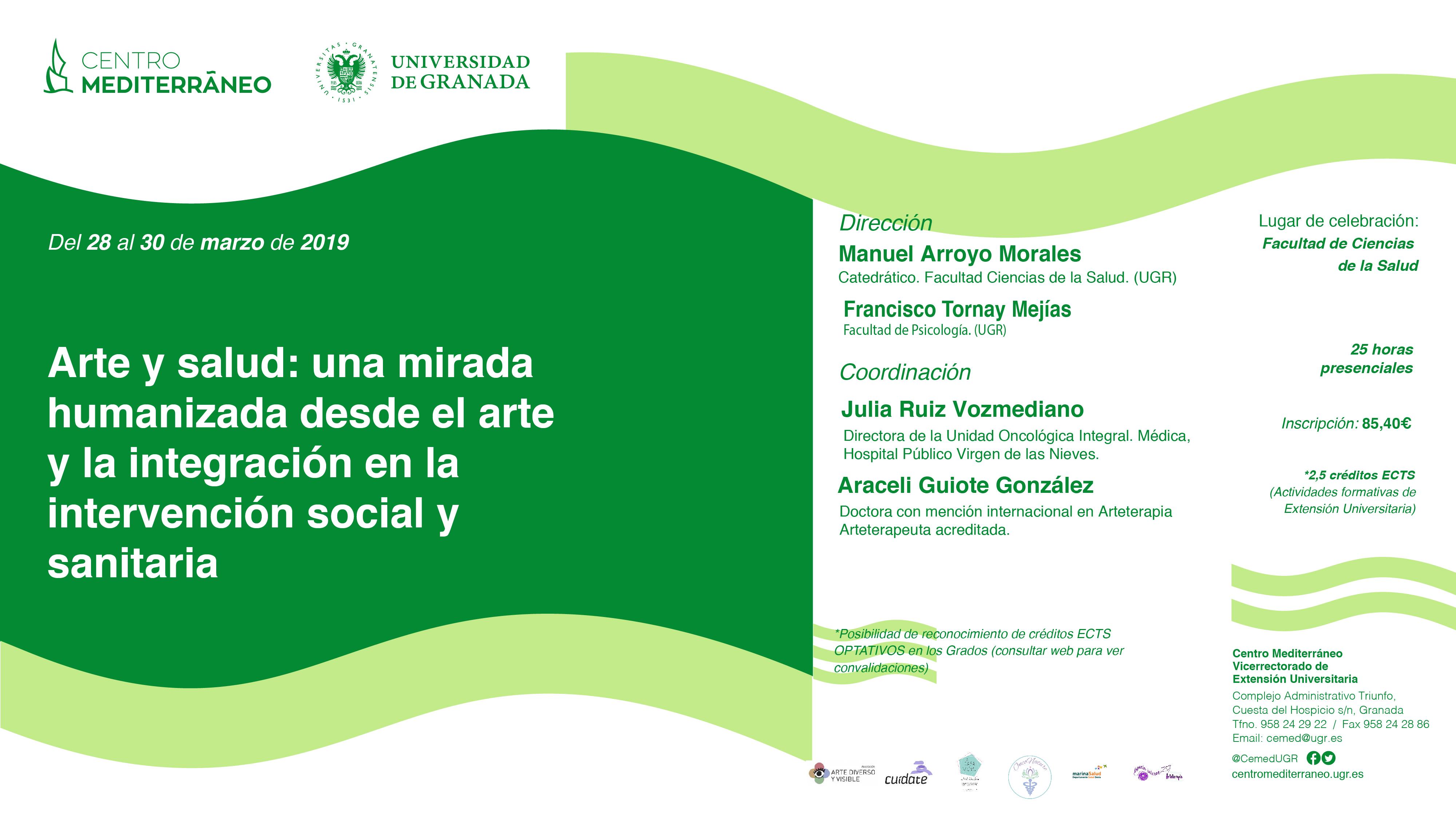 Arte y salud: una mirada humanizada desde el arte y la integración en la intervención social y sanitaria